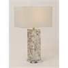 "Polystyrene Mosaic Table Lamp 28""H"