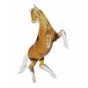 """Benzara Glass Horse 12""""W, 13""""H"""