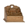 Benzara Simple And Distinctive Wood Letter Holder