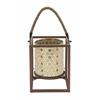 """Benzara Metal Mosaic Lantern 8""""W, 10""""H"""