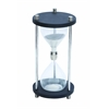 Benzara Metal Glass Sand Timer With Real Sand