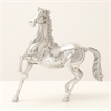 "Outstanding Aluminum Horse Decor 15""W, 15""H"