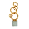 Classy PS Sculpture Decor, Gold & Grey