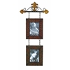 Benzara Metal Wall Photo Frame Decor Item With Family Statement