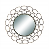 Benzara 35 Inch Diameter Metal Mirror Excellent Anytime Wall Decor Upgrade