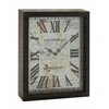 Benzara Lovely And Rustic Wood Wall Clock