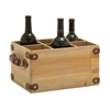 Benzara Exclusively Designed Wood Wine Caddy