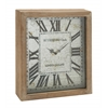 Benzara Uniquely Cool Wood Wall Clock