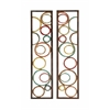 Benzara Astonishing 2 Assorted Metal Wall Panel