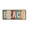 Benzara Colorful And Fun Beach Theme Wall Sign Décor