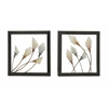 Striking Metal Led Wall Decor 2 Assorted