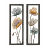 Benzara Stunning Metal Led Wall Decor 2 Assorted
