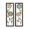 Set Of 2 Assorted Exquisite Metal Wall Décor
