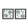 Benzara Outstanding Metal Led Wall Plaque 2 Assorted