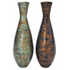 Benzara Brilliant Lacquer Vase 2 Assorted