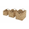 Benzara Exclusive & Superb Set Of 3 Sea Grass Baskets