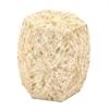 Ravishing Wood Shell Inlay Stool, Cream