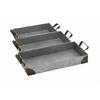Benzara Impressive Styled Amazing Metal Tray
