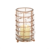 Alluring Glass Metal Lantern Copper, Copper