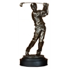 Polystone Male Golfer Modern Art Passion