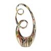 Attractive Ps Painted Sculpture, Multicolor