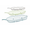 "Stylish Metal Leaf Tray Set Of 3 30"", 28"", 26""W"