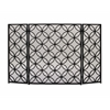 "Benzara Striking Metal Fire Screen 48""W, 30""H"