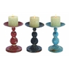 Candle Holder Assorted Solid And Durable - Set Of 3
