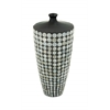 Benzara Lovely Ceramic Lacquer Inlay Vase