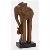 Creative Ceramic Elephant, Brown, Black