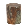 Natural Wood Teak Resin Foot Stool