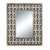 Benzara Long Lasting Wood Frame High Quality Mirror