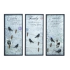Benzara Long Lasting Wood Wall Decor Assorted - Set Of 3