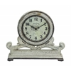 Classic And Traditional Wood Table Round Face Clock