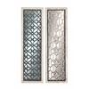 Benzara Attractive Styled Wood Mirror Panel 2 Assorted