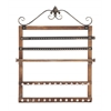 Fascinating Styled Wood Wall Jewelry Rack