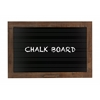 Benzara Smart Contemporary Styled Wood Blackboard