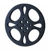Metal Movie Reel Black-Gray