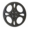 Benzara Metal Movie Reel 18 Inch Diameter