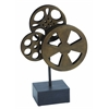 Metal Movie Reel Elegant Accessory For Conference Room