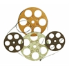 Benzara Metal Wall Decor Set Of Four Film Reels
