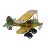 "Benzara Metal Bi-Plane 12""W, 7""H Unique Home Accents"