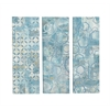 Benzara Contemporary Canvas Art Set Of 3