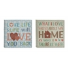 Benzara Simple But Timeless Canvas Art Set Of 2