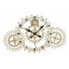 Benzara Metal Wall Clock With Elegant Grandeur And Majestic Charm