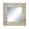 Benzara Wood Capiz Mirror Join The Fashion Of Capiz Decor