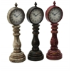 Benzara Table Clock Assorted With Antique Charm Look - Set Of 3