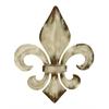 Benzara Decorative Metal Fleur De Lis Charm With Classic Style