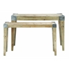 Benzara Classic Wooden Console Table With Soothing And Warm Effect