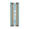 Lovely And Beautiful Wood Welcome Plaque